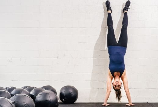 How to Do a Handstand: Benefits + Things You Must Keep in Mind - NDTV Food