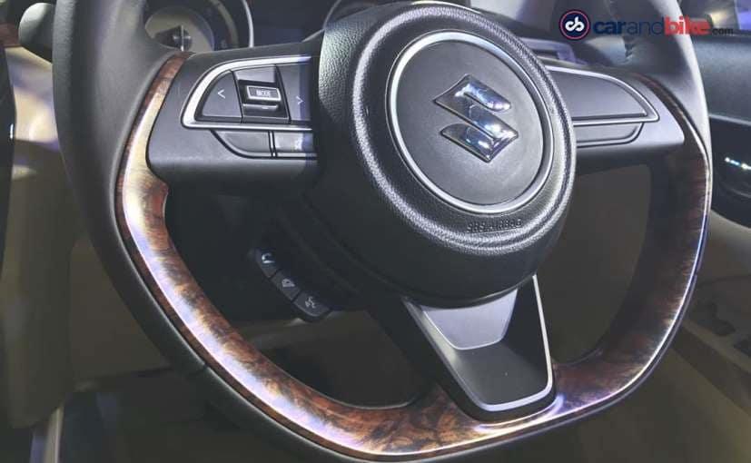 new maruti suzuki dzire interior wood trim