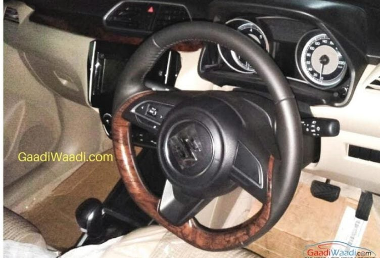 new maruti suzuki swift dzire cabin