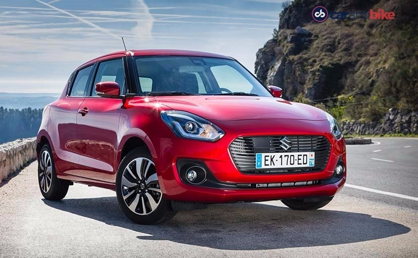 new maruti suzuki swift front right quarter