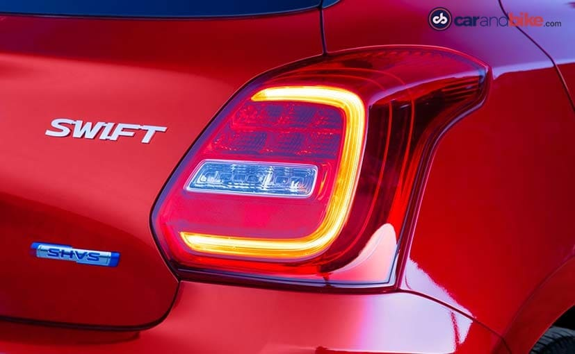 new maruti suzuki swift taillight