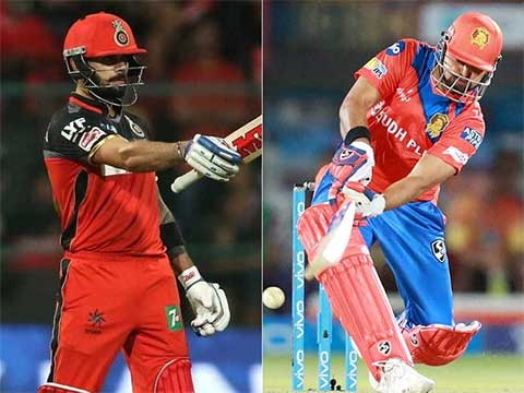 IPL 2017: Gujarat Lions 135/3 in 13.5 overs (Finch 72; Badree 2/29) beat Royal Challengers Bangalore by 7 wickets