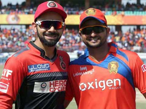 IPL 2017: Royal Challengers Bangalore 134 all out in 20 overs (Negi 32; Tye 3/12) vs Gujarat Lions in Bangalore
