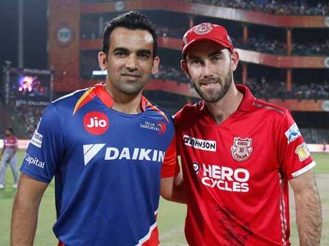 IPL 2017, Mohali: Kings XI Punjab captain Glenn Maxwell wins toss, elects to bowl vs Delhi Daredevils