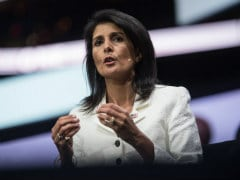 US Envoy Nikki Haley Says 'Time For Evidence' On Donald Trump Scandal