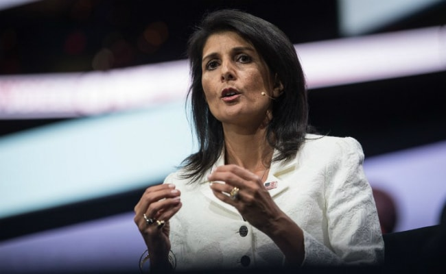 US Would Talk To North Korea If Missile, Nuclear Tests Stop: Nikki Haley