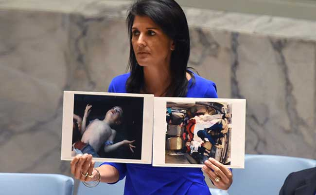 'Horrible' Photographs Of Suffering Moved Donald Trump To Action On Syria