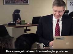 The New BBC Dad Is A Latvian Mayor Whose Cat Interrupted His Live Stream