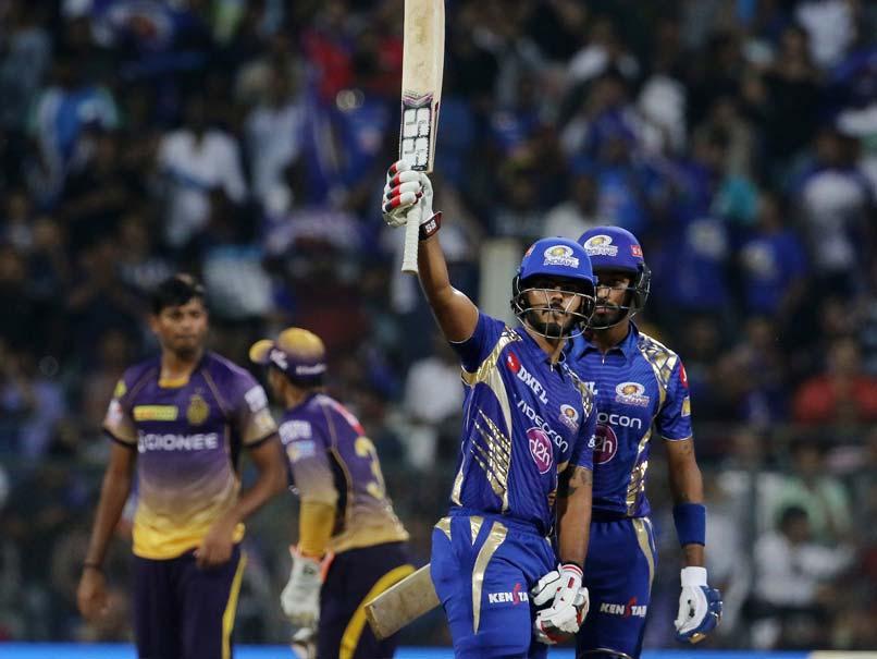 IPL  2017: Nitish Rana, Hardik Pandya Help Mumbai Indians Pull Off Thrilling Win