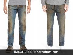 $425 For Jeans Coated With Fake Dirt? Yes
