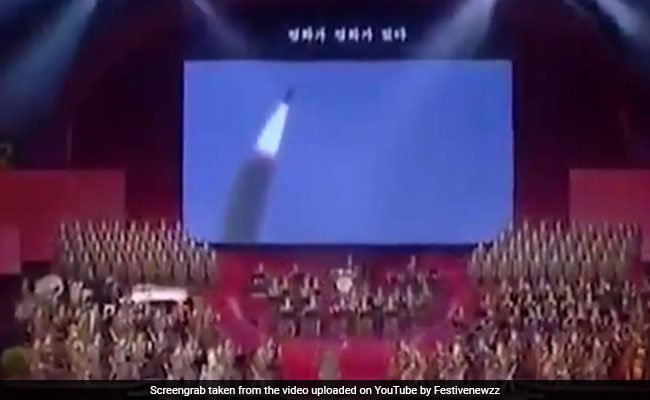 North Korea Releases Video Showing The White House In Crosshairs And Carriers Exploding