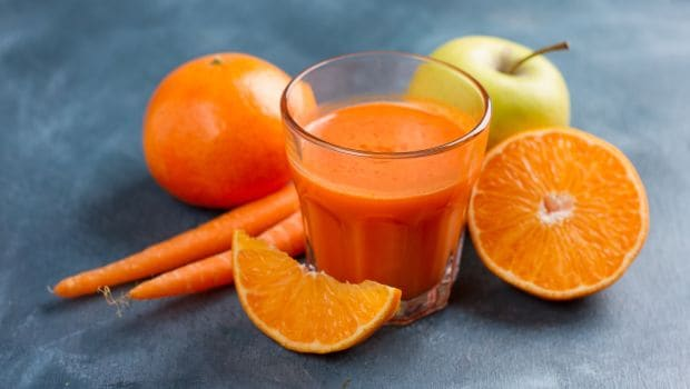 orange carrot detox drink