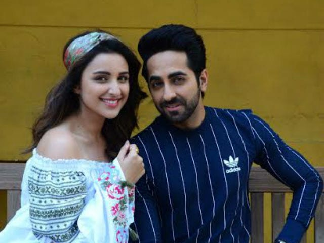 Ayushmann Khurrana and Parineeti Chopra Groove To The Song Gazab Ka Hai Din