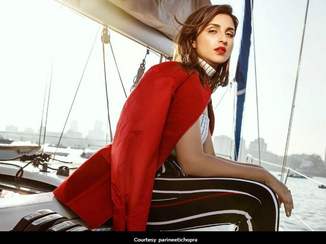 Meet Parineeti Chopra, The Seafarer, Being Fabulous In Cruise Photoshoot