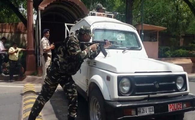 ...जब संसद परिसर में सुरक्षा अलार्म के अचानक बजने से मचा हड़कंप और जवानों ने मोर्चा संभाला