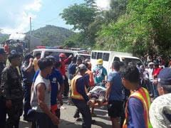 Death Toll After Philippine Bus Plunge Rises To Atleast 31