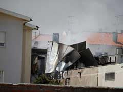 5 Killed As Light Airplane Crashes Near Portugal Supermarket
