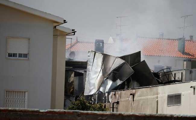 5 Killed As Light Airplane Crashes Near Portugal Supermarket