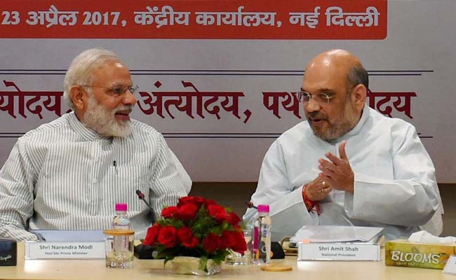 PM Narendra Modi Meets 13 Chief Ministers Of BJP-Ruled States, Talks Development