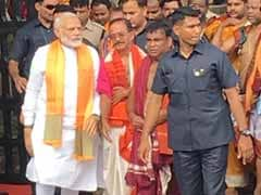 Selfies, Prayers And Guided Tour: PM Narendra Modi's Visit To Bhubaneswar's Lingaraj Temple
