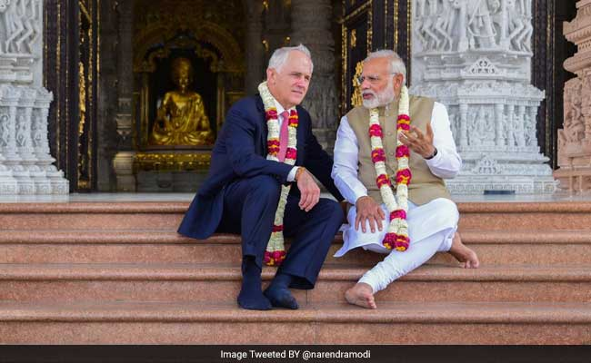 Prime Minister Narendra Modi Conveys Concerns Over Visa Issue To Australian PM Malcolm Turnbull