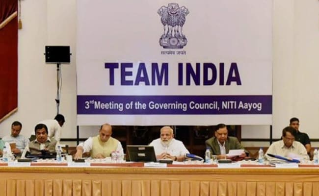 At NITI Aayog Meet, PM Narendra Modi Asks States To Ramp Up Infrastructure Development