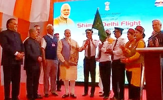 Prime Minister Narendra Modi Launches Cheap Flights Scheme 'Udan' From Shimla: Highlights