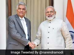 Prime Minister Narendra Modi Discusses Bilateral Issues With Sri Lankan PM Ranil Wickremesinghe