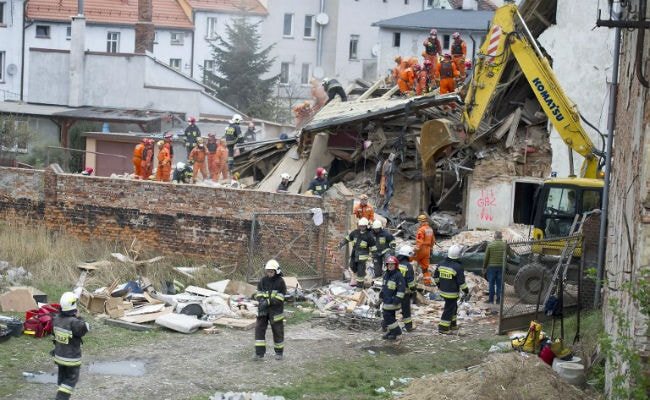 6 People Killed As Building Collapses In Poland's Swiebodzice