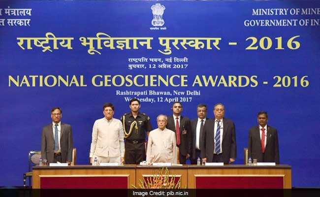 President of India Presents National Geo-Science Awards 2016