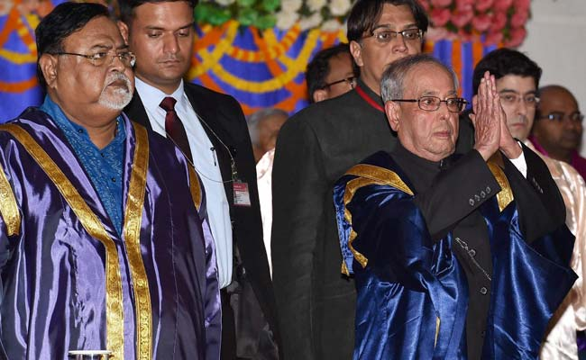 President Pranab Mukerjee Strays From Draft Speech With Strong Plea For Dissent