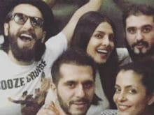 Priyanka Chopra Parties With Ranveer Singh After Returning From The US
