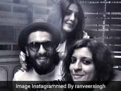 यूएस से लौटने के बाद प्रियंका चोपड़ा ने रणवीर सिंह के साथ की पार्टी, देखें फोटो