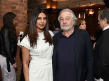 Priyanka Chopra Spent 'An Afternoon With The Greats' - Robert De Niro, Whoopi Goldberg