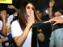 Priyanka Chopra Arrives In Mumbai, Thanks Everyone For A 'Warm Welcome'