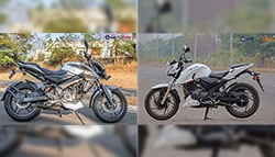 Bajaj Pulsar NS200 Vs TVS Apache RTR 200 4V: Specifications Comparison