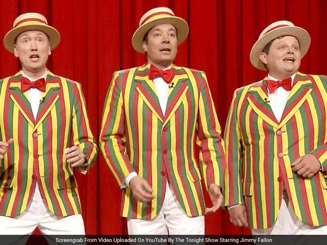 Jimmy Fallon Leads The Ragtime Gals In Cover Of Baby Got Back