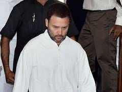 Rahul Gandhi Hunts For Support For Today's Vote On GST Tax Reform Bills