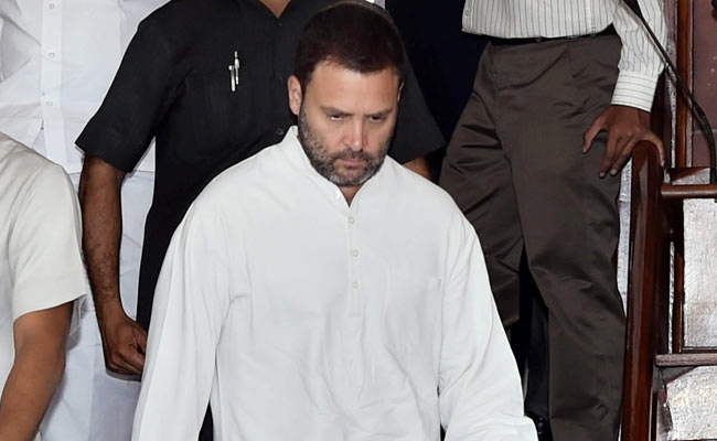 Cow Vigilante Killing: Rahul Gandhi Slams Government For 'Allowing Lynch Mobs To Rule'