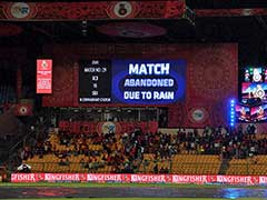 IPL 2017: Match Between Royal Challengers Bangalore And Sunrisers Hyderabad Abandoned Due To Rain