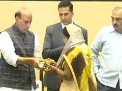 Rajnath Singh Launches Portal To Help Families Of Troops Killed In Action, Credits Akshay Kumar