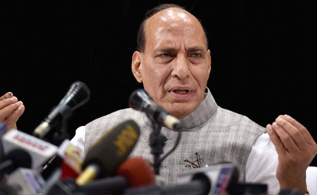 NDA Government Will Find Permanent Solution To Kashmir Issue: Rajnath Singh