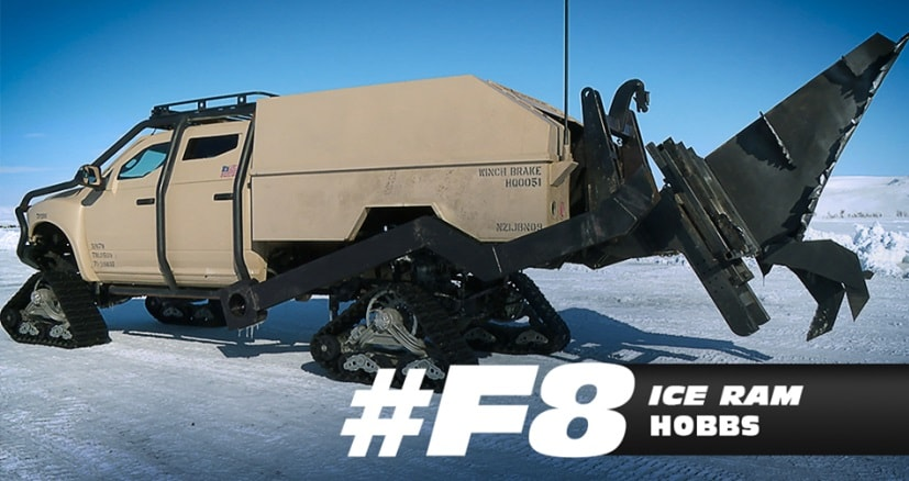ram ice truck fast 8