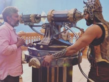 <I>Baahubali 2</I>: Pics Of Prabhas, Rana Daggubati On Set Are Going Viral