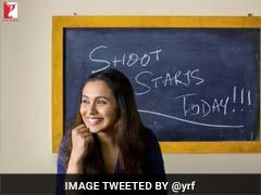 रानी मुखर्जी ने आज से शुरू की फिल्म 'हिचकी' की शूटिंग