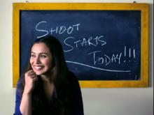 Rani Mukerji Begins Shooting For Her Comeback Film <I>Hichki</i>