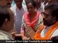 Now, Shiv Sena MP Ravindra Gaikwad Engages In Verbal Spat With Cops. Video Is Viral