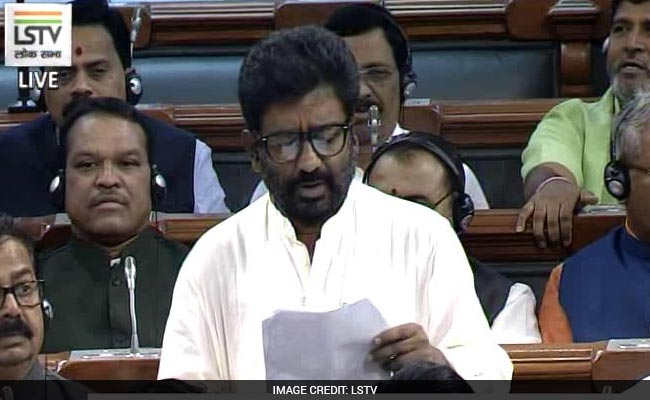 'What Wrong Did I Do', Shiv Sena MP Ravindra Gaikwad In Parliament: Highlights