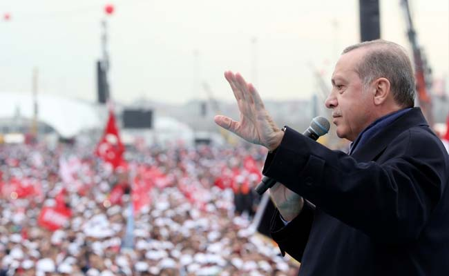 Triumphant Turkish President Swats Away Western Criticism Of Referendum