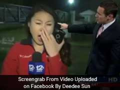 Sleepy Reporter Caught Yawning. Channel Accidentally Puts Her On-Air